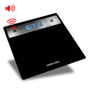 Yongkang Factory TS-B8031 Digital Talking Speaker Bathroom Scale