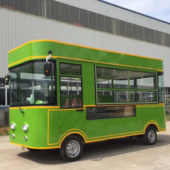 Snack Use Multifunctional Juice Bar Mobile Food Truck For Sale