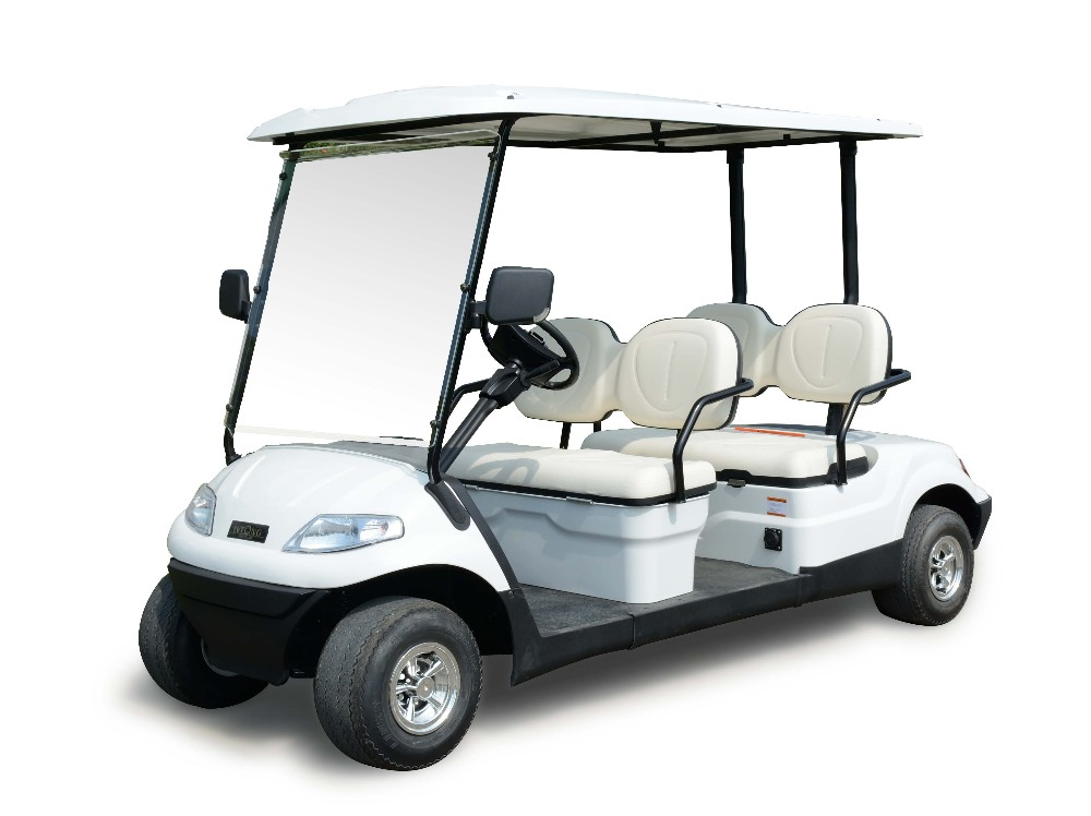 Cheap 4 seater electric fast golf carts battery 48v for for Motorized carts for sale