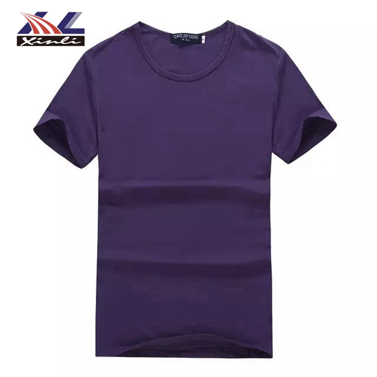 New 2018 Promotional Products Custom t shirt wholesale For Sublimation Printing Your Logo Fitness Clothing Factory