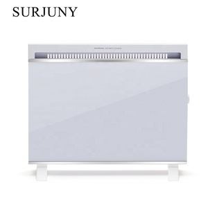 Freestanding convector electric panel heater