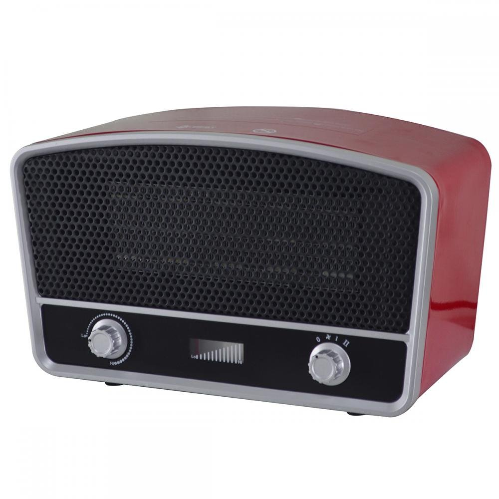 Portable Space Heater, 950W/1500W PTC Ceramic Heater, Portable Space Heaters with Adjustable Thermostat for Home Bedroom, Personal Desk Heaters for Office