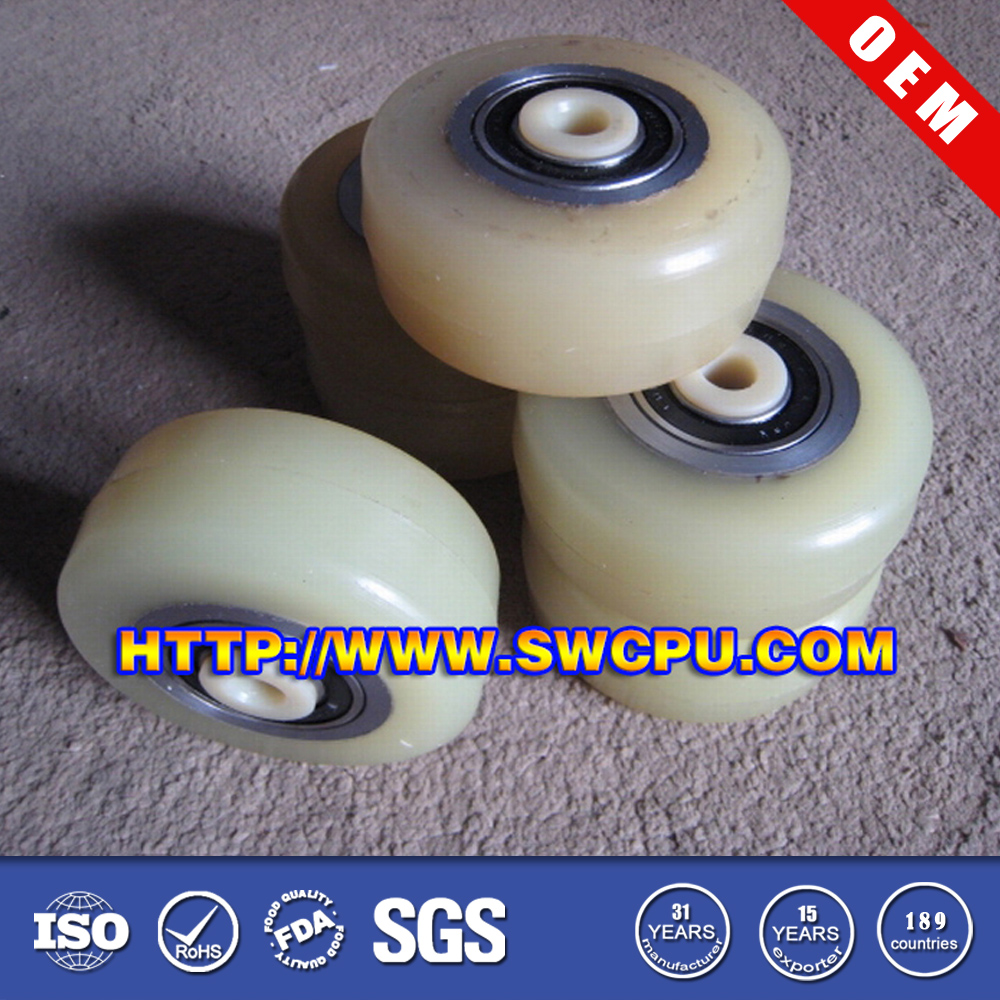 Heavy Duty Molded Plastic Pu Injection Wheels For Skateboards ...