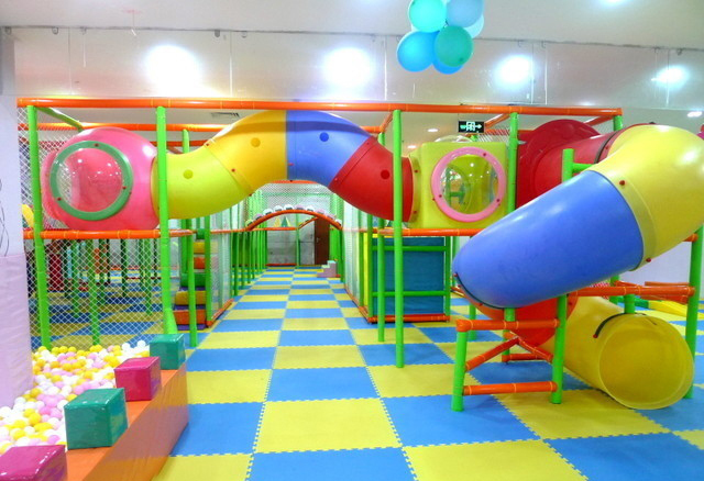 Low Price Kids Indoor Soft Play Portable Playground