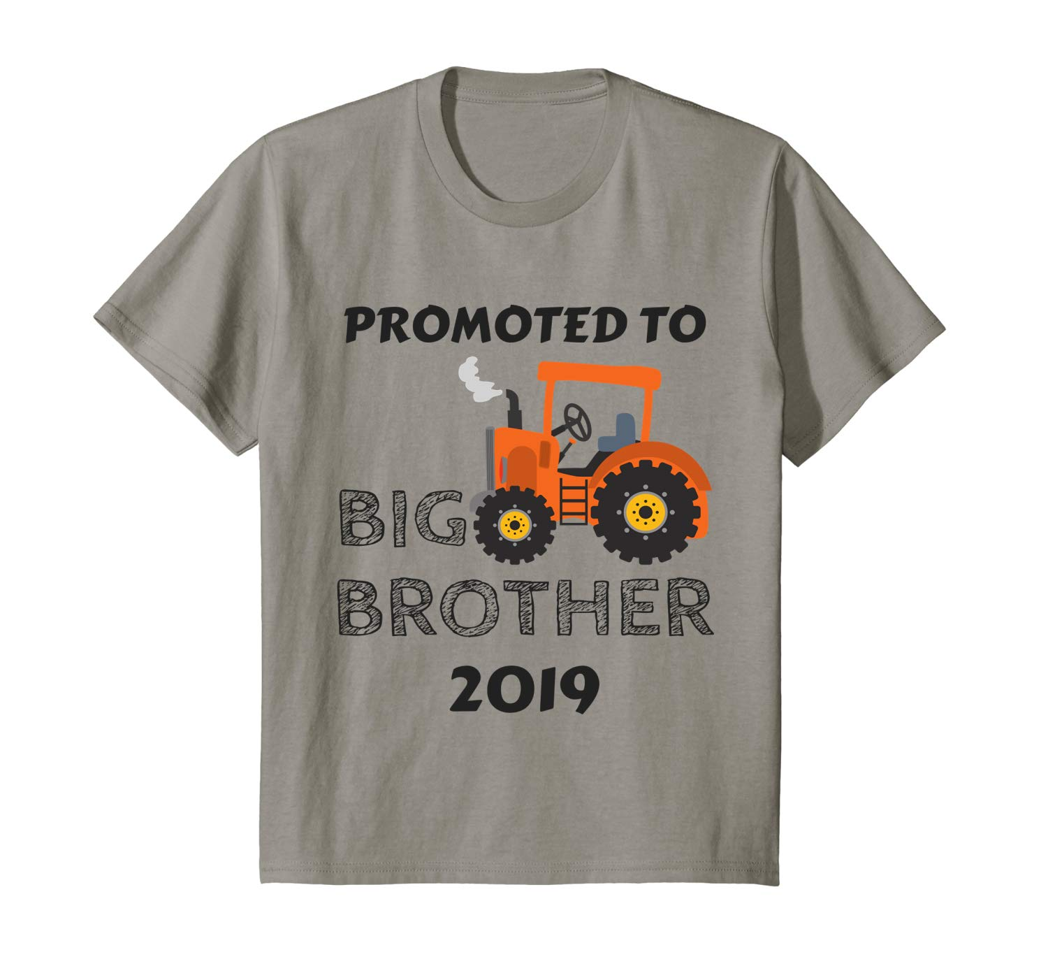 69a49bf5 Get Quotations · Kids Kids Promoted To Big Brother 2019 Shirt Tractor Boys  Toddler