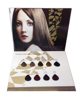 Hair Color Swatch Book Hair Color Chart Manufacturers - Buy Hair ...