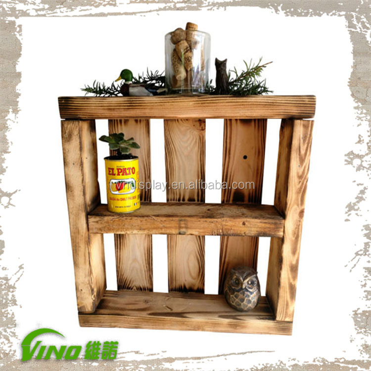 Vintage Wall Mount Wooden Shelving Unit,Custom Handmade Display Shelves Holder,Rustic Spice Shadow Storage Box Display Case