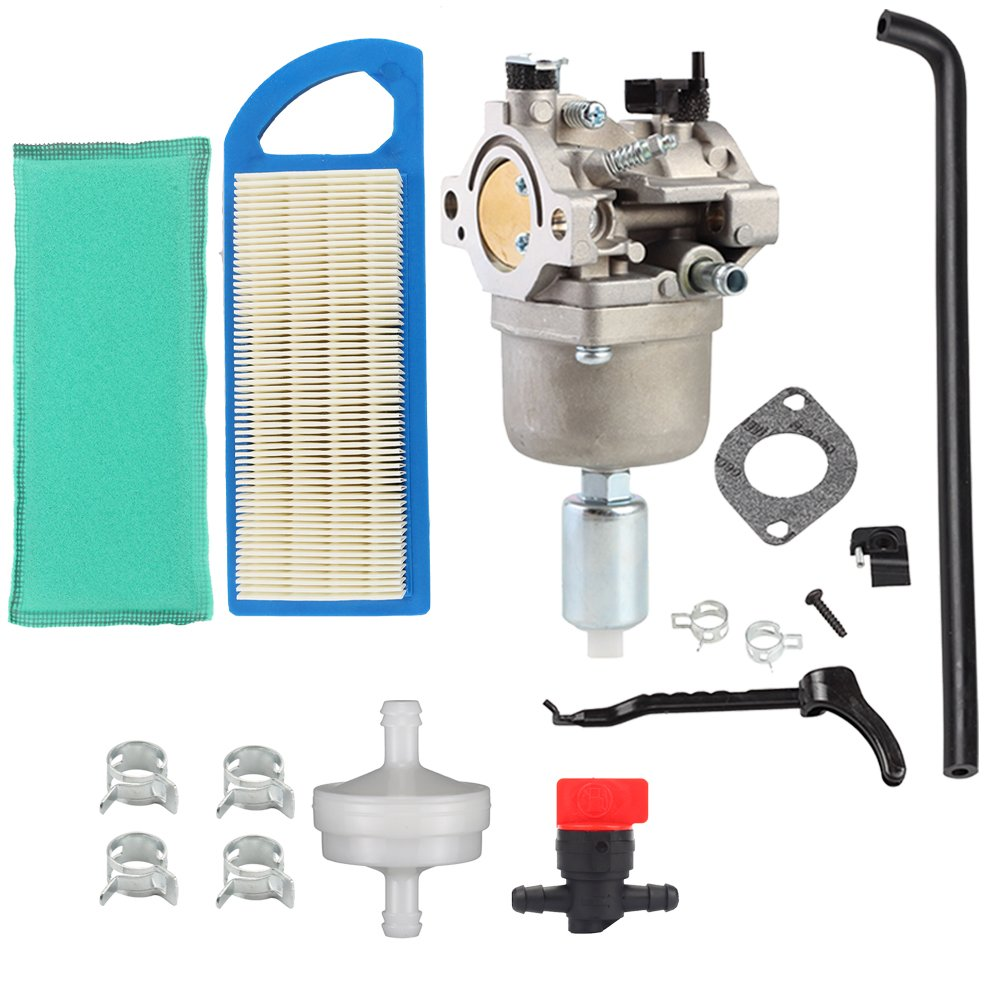 Get Quotations · Harbot MIA12509 Carburetor with GY20573 Air Filter Tune Up  Kit for John Deere L107 L108 115