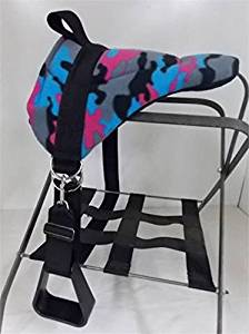 MINIATURE HORSE / SM PONY / PONY BAREBACK SADDLE - BRIGHT CAMO
