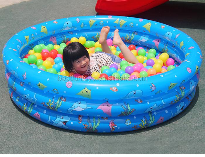 Promotie Op Maat Gemaakte Opblaasbare Ballenbak Zwembad Opblaasbaar Zwembad Kinderen Ballenbad