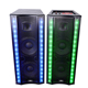 Professional outdoor 2.0 active stage speaker 10/12 inch big stage speaker with LED light