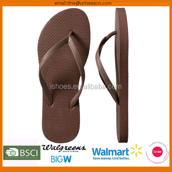 Latest design basic solid beach PE cheap china 2016 new model flip flop shoes
