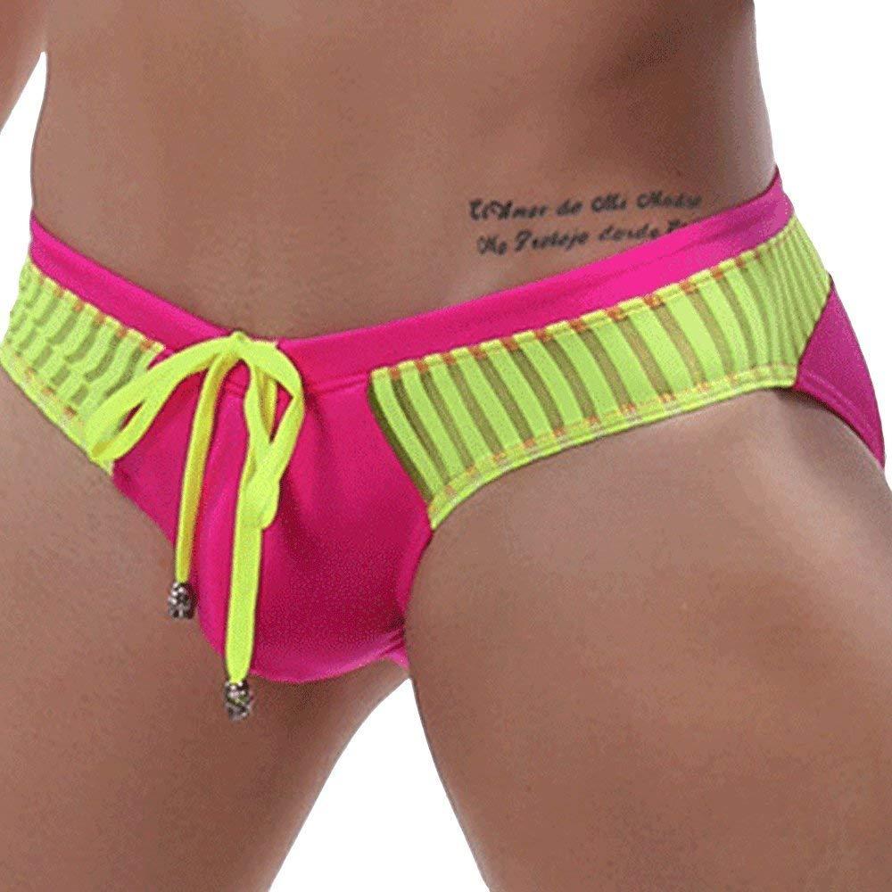 Bikini bottoms pink bikini bottom slim sides