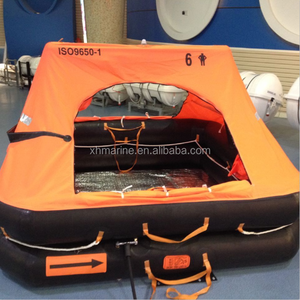 4-12 persons Yacht Leisure Liferaft with valise package