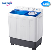 5.5kg small twin tub washing machine