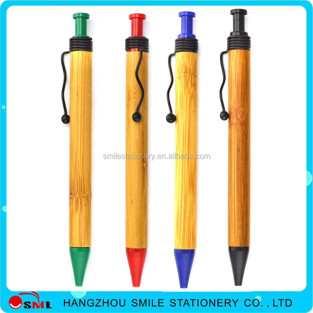 2016 good quality environmental recycle wood burning pen