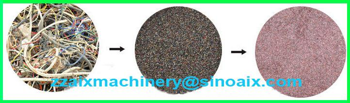 499 Ce Quality Best Service Scrap Copper Cable Granulator