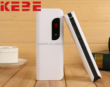 Shenzhen KEBE portable charger 3 Usb external Battery 12500 mah mobile phone charger