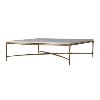 Vintage Natural Marble Top Metal Br Gold Coffee Table White View Mw Home Product Details From Ningbo Mrs Woods