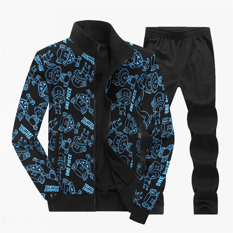 Wholesale Men's Sweat Suits 100% Cotton Hoodies Sweatshirt For Sportswear
