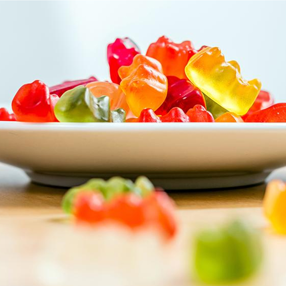 Full Spectrum Hemp Extract Gummy Bear-CBD Gummies- Relieve Stress, Sleep, Anxiety CBD Candy