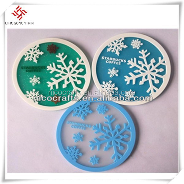 various promotional customized place pad in different color