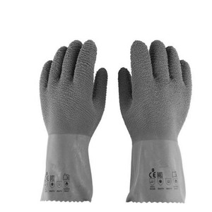 For wholesale vulcanized rubber coated gloves blue rubber gloves latex examination gloves price