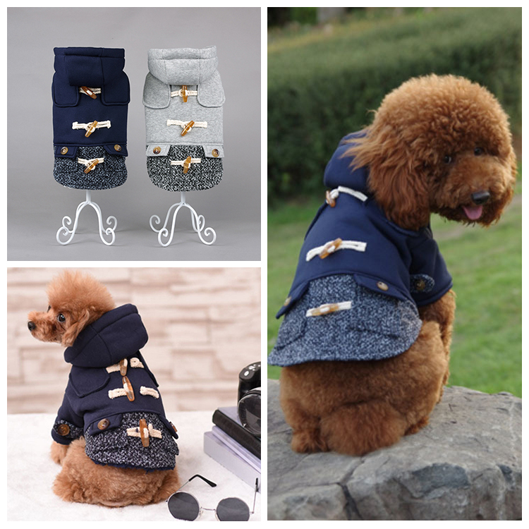 2018 New Design Wholesale Winter Warm Dog Clothes / Pet Clothes / Dog Apparel