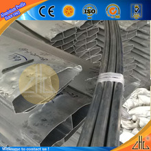 Hot! aluminium special profile for chair handle aluminium profile cnc high precision aluminium bend tube