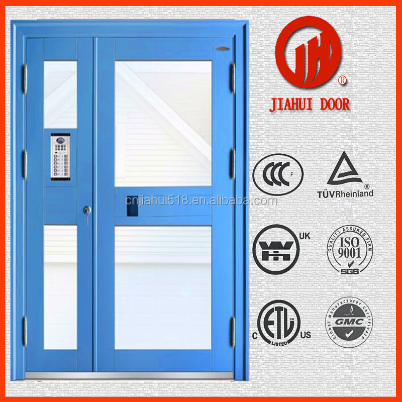 factory price 2 hours fire rated steel door