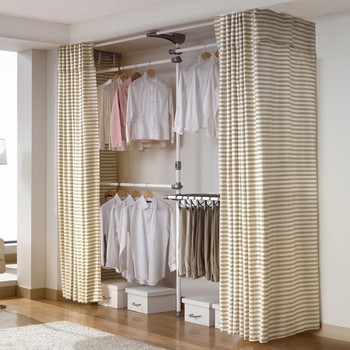 Diy Garment Clothes Rack Buy Portable Clothes Rack Product On Alibaba Com