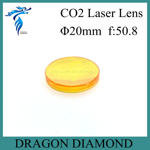 High Quality ZnSe Focus CO2 Laser Lens 20mm for Laser Cutting Machine