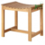 Wholesale High Quality New Design 100%  Natural Bamboo Wood  Shower Bench Seats For Bathroom