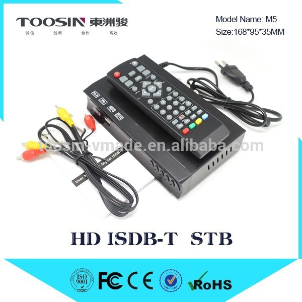 hot sale in the Philippines Digital TV ISDB-T M5 converter ISDB-T Set Top Box