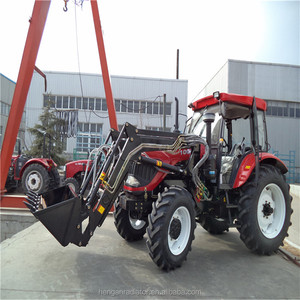 60HP 4WD Farm Tractor with Front Loader