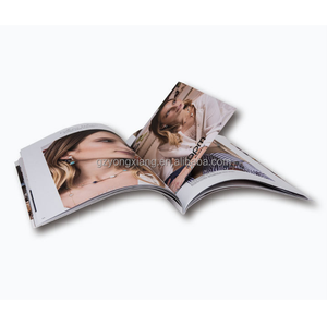 High quality direct manufacturer magazine printing service in Guangzhou China