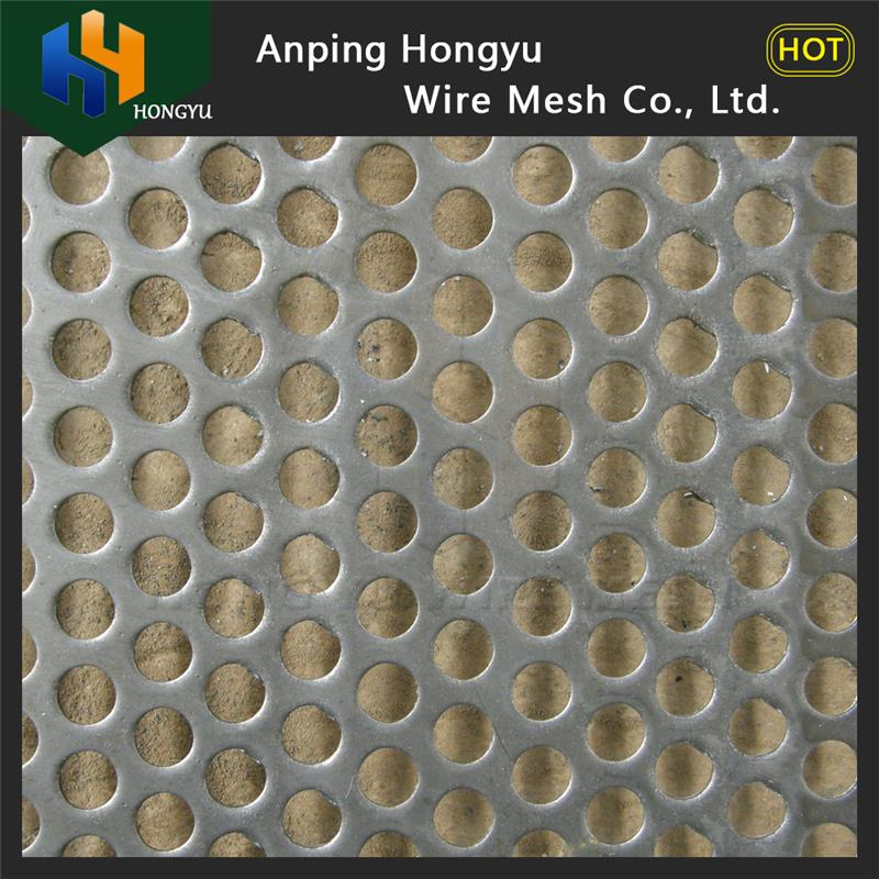 hot selling stainless steel honeycomb mesh perforated sheet price m2