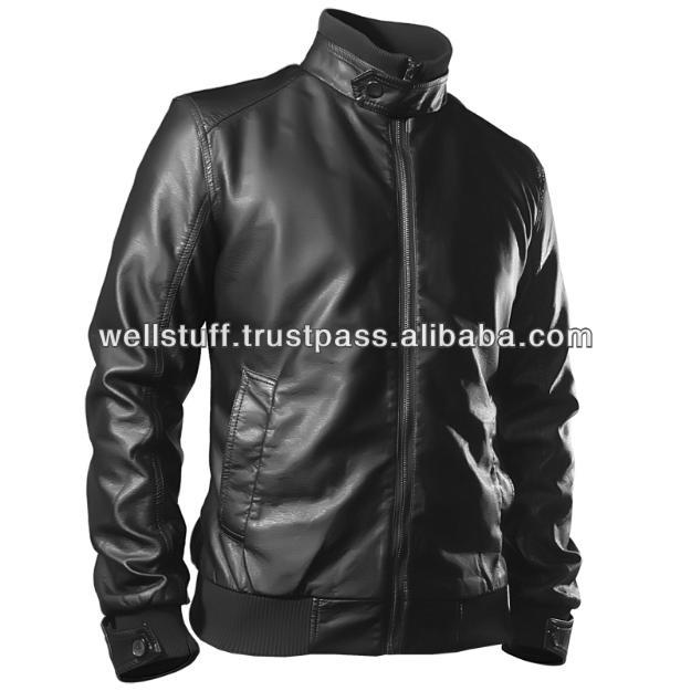 Men's Best Design Fashion Leather Jacket - Buy Lateset Design ...