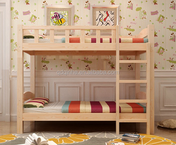 Solid Wood Kid S Bedroom Wooden Bunk Bed Strong Comfortable Bunk Bed