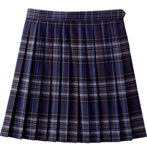 Wholesales Short Design Schools Uniform Skirts Blue Plaid School Girl Skirt - Buy School Skirt ...