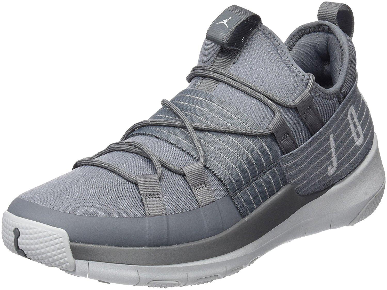 first rate 7300a ea0a8 Get Quotations · Jordan Men s Trainer Pro Training Shoe, Cool Grey Pure  Platinum-Pure Platinum 9