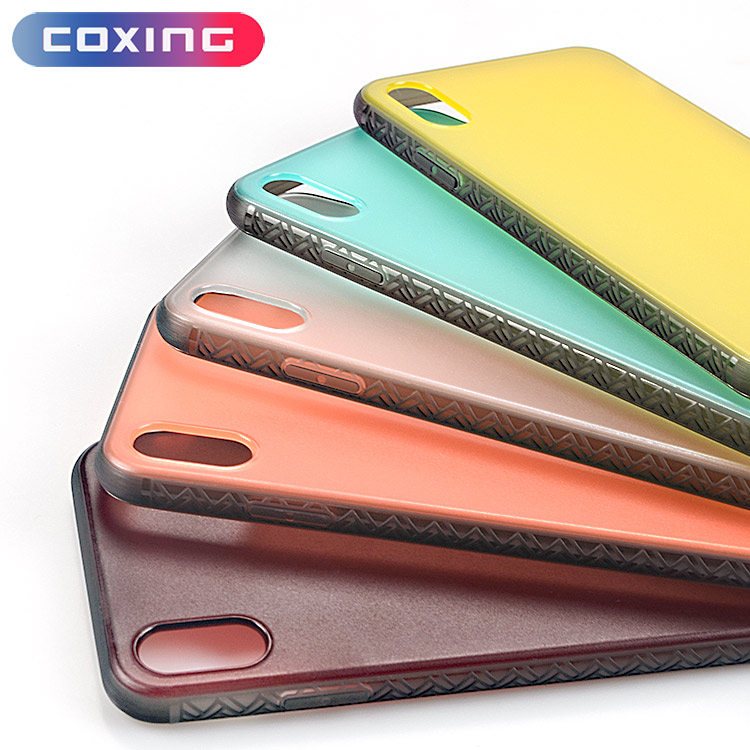 Bunte TPU + PC Premium Matt Handy Fall Für iPhone X XS Max XR