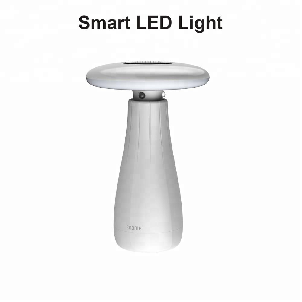 Draagbare Zigbee LED Licht Muziek WiFi Smart LED Bureau Tafellamp Met Bluetooth Speaker Auto Self-controlerende 3D Gebaar controle