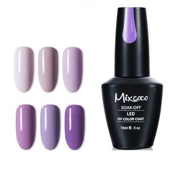 Mixcoco New Design 192 Colors Uv Gel Nail Polish Soak Off Gel Polish ...