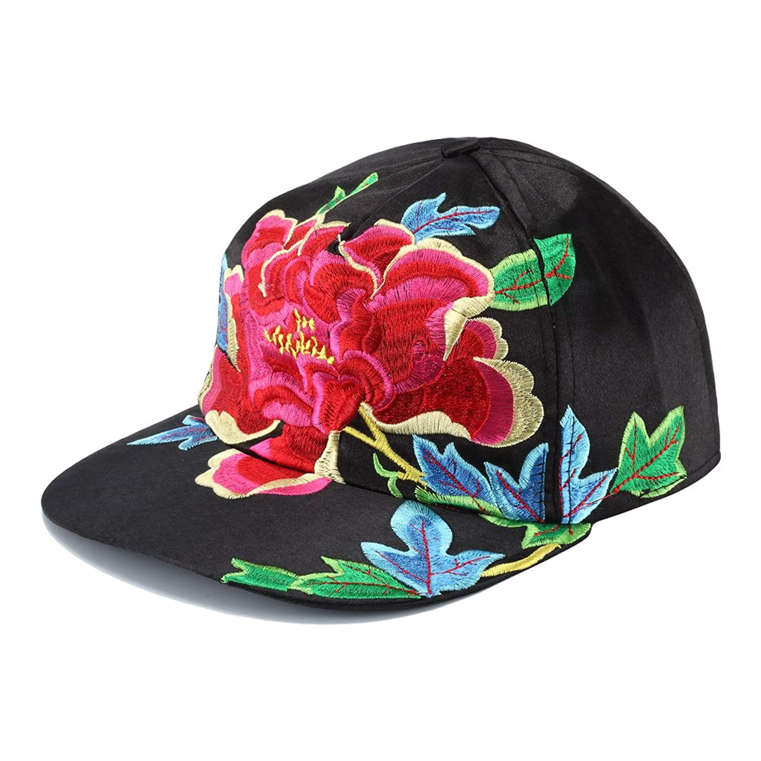 dc4a7a53117c4 Vintage Embroidered Snapback Hats for Men Embroidery Hats Flex Fit Hip Hop  Flat Bill Baseball Cap