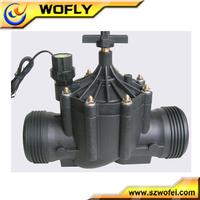 hydraulic plastic irrigation solenoid valve 12 volt