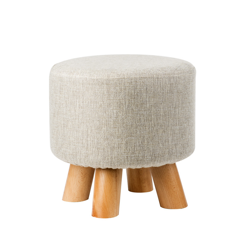 Handmade factory price small wood stool
