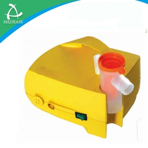 Medical Low Noise Home Compressor Nebulizer yellow