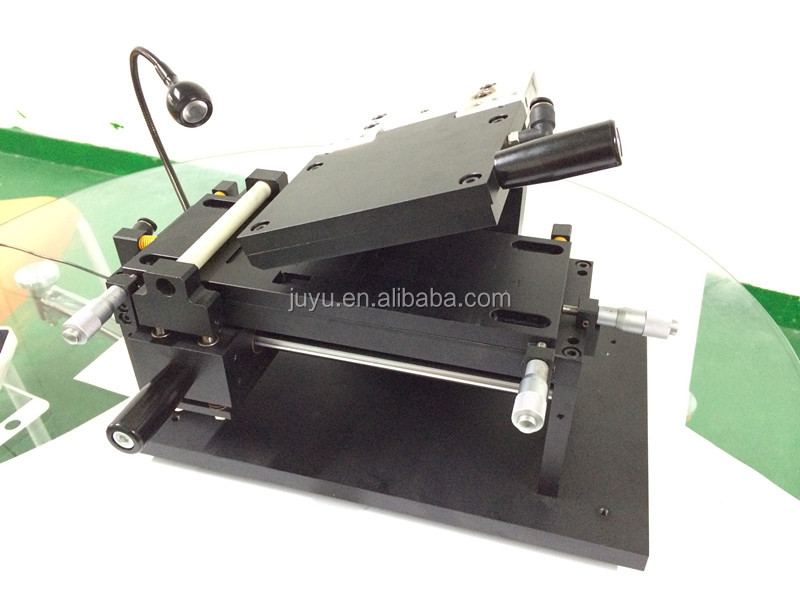 Many old clients feedback well Manual laminator laminating machine for OCA tape, polarizer and protective film