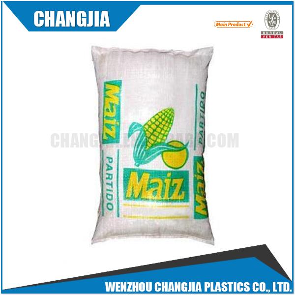 Di alta Qualità Laminato Agricoltura Pp Sacchetto Tessuto Per L'alimentazione di Imballaggio